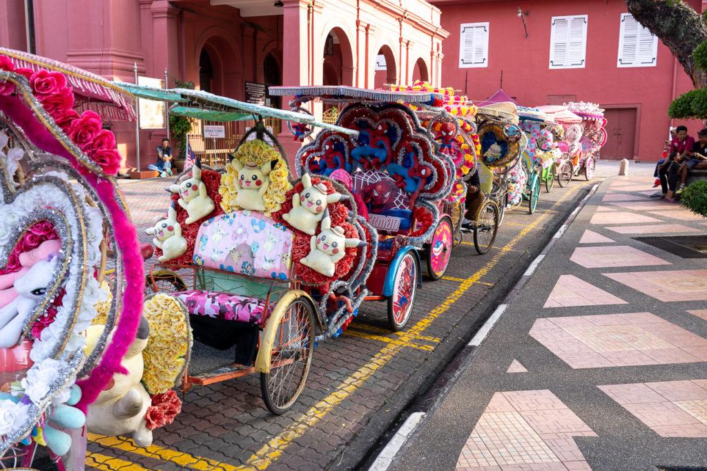 Trishaws, Malacca
