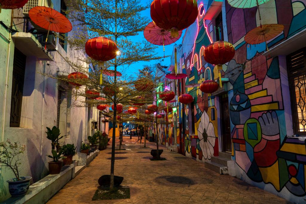 Street art, Jalan Tukang Besi, Malacca