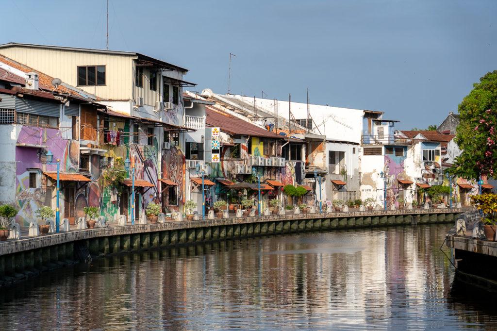 Street art, Malacca River