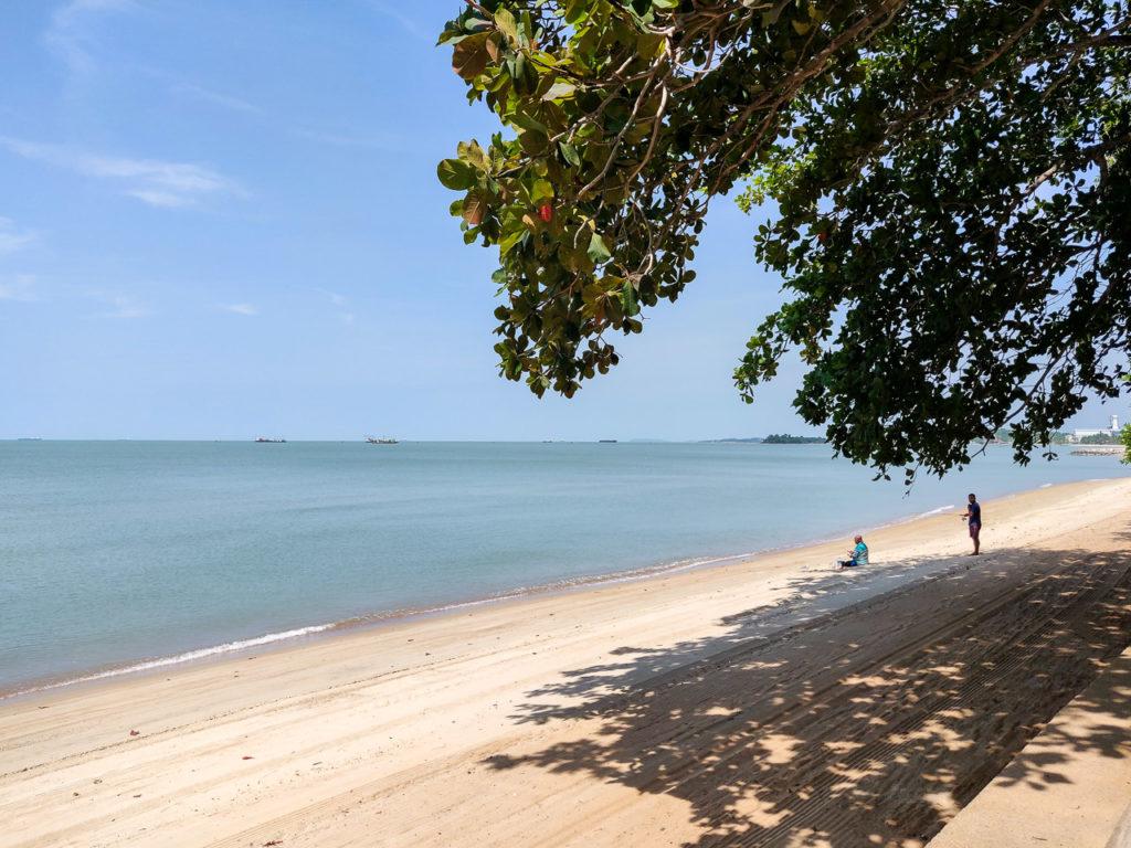 Beach, Kampung Sungai Tuang