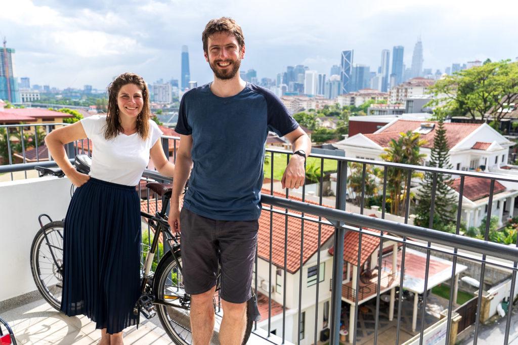 Johanna & Armand in Kuala Lumpur