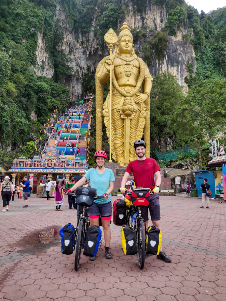Johanna & Armand at Batu Caves