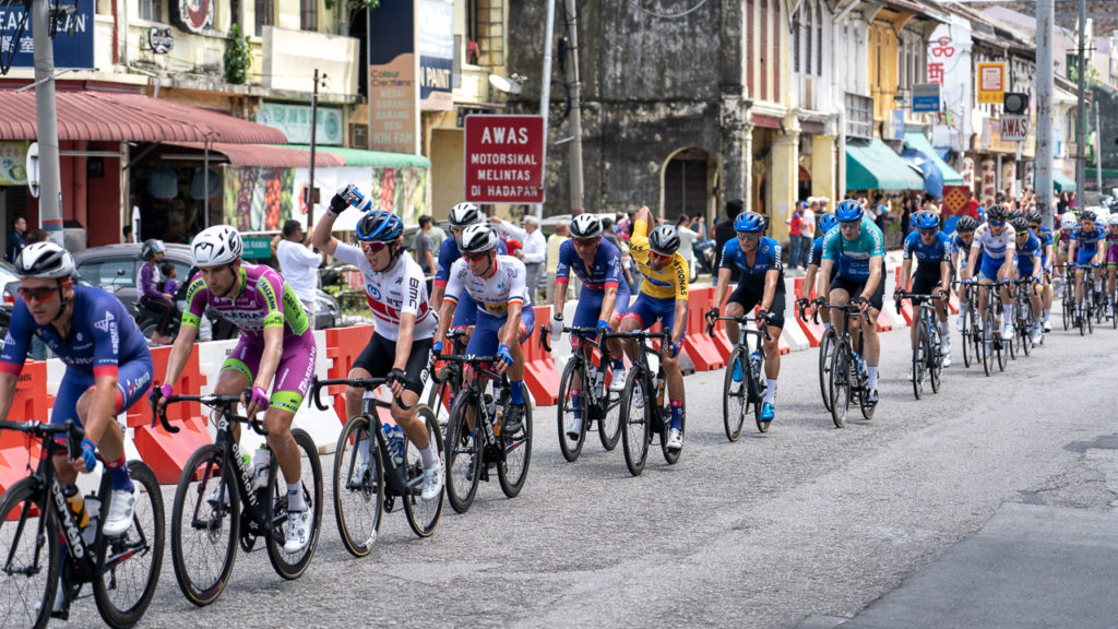 Tour de Langkawi in Bidor
