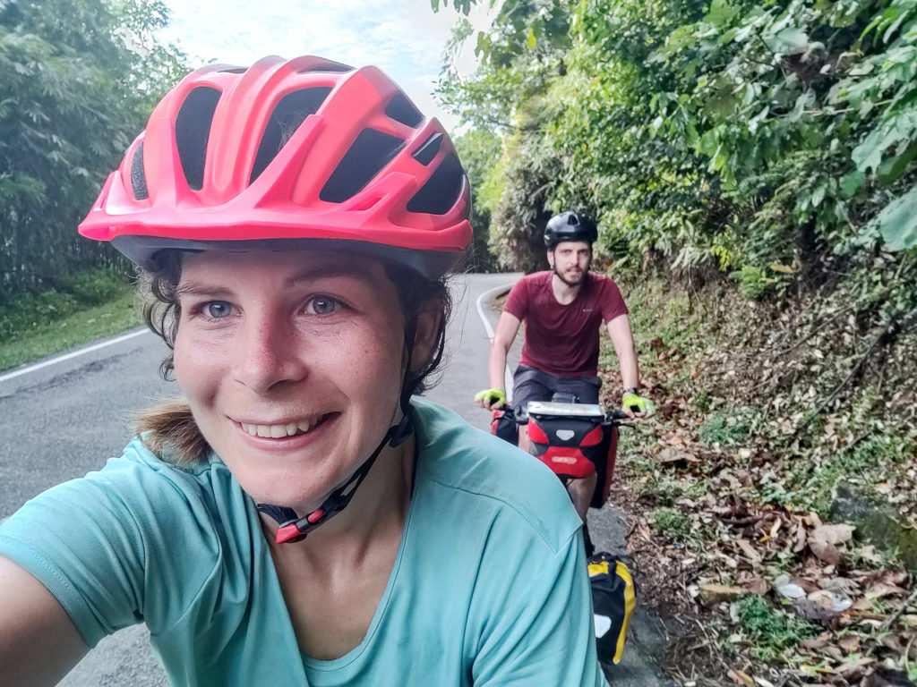 Johanna & Armand on Malaysia Federal Route 59