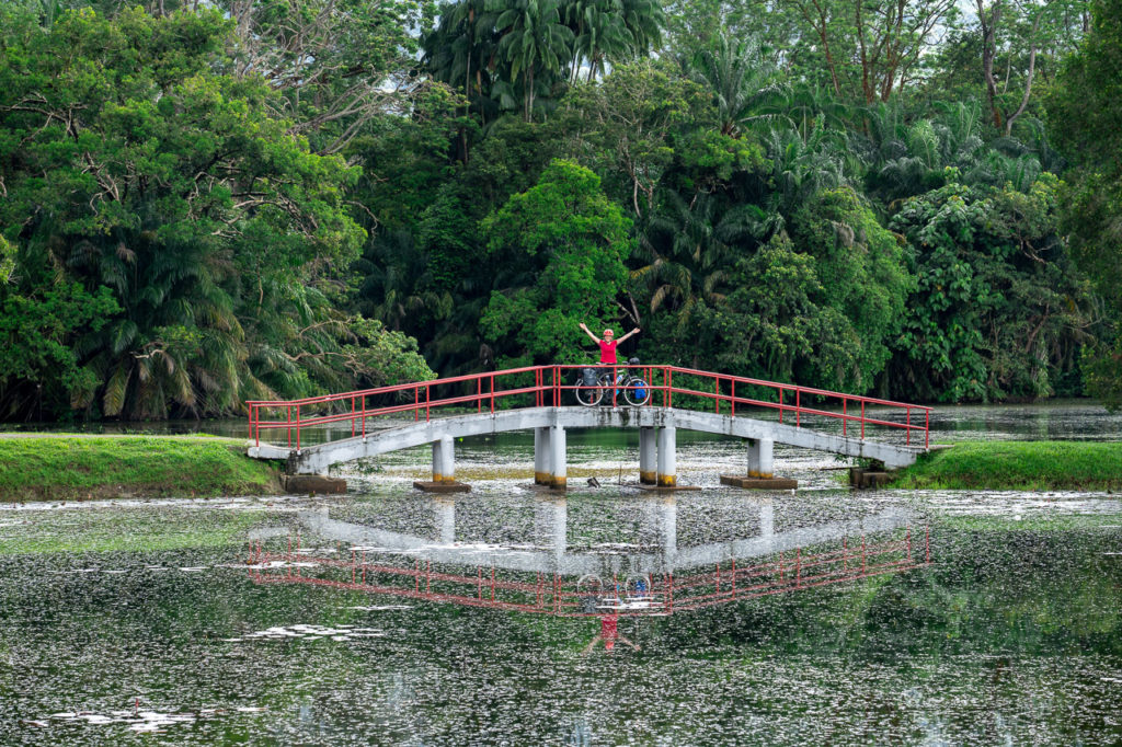Johanna at Taiping Lake Gardens