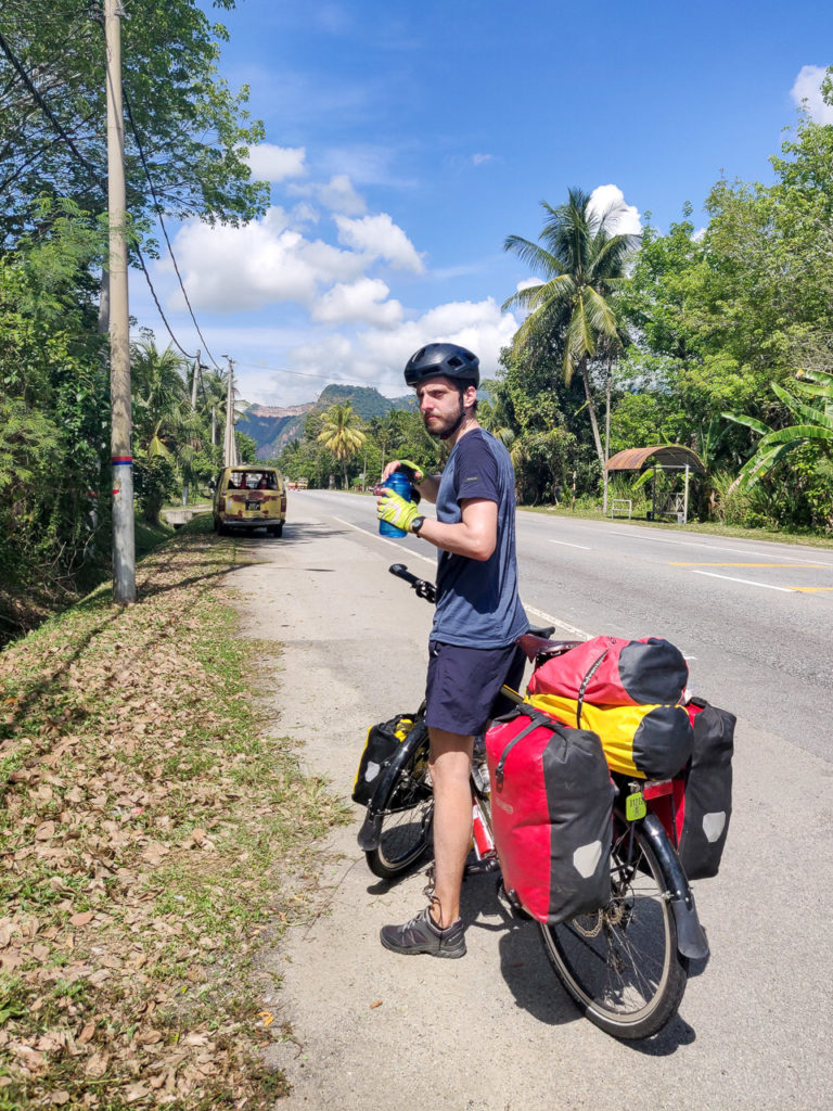 Armand on Malaysia Federal Route 1 nearby Kampung Padang Asam