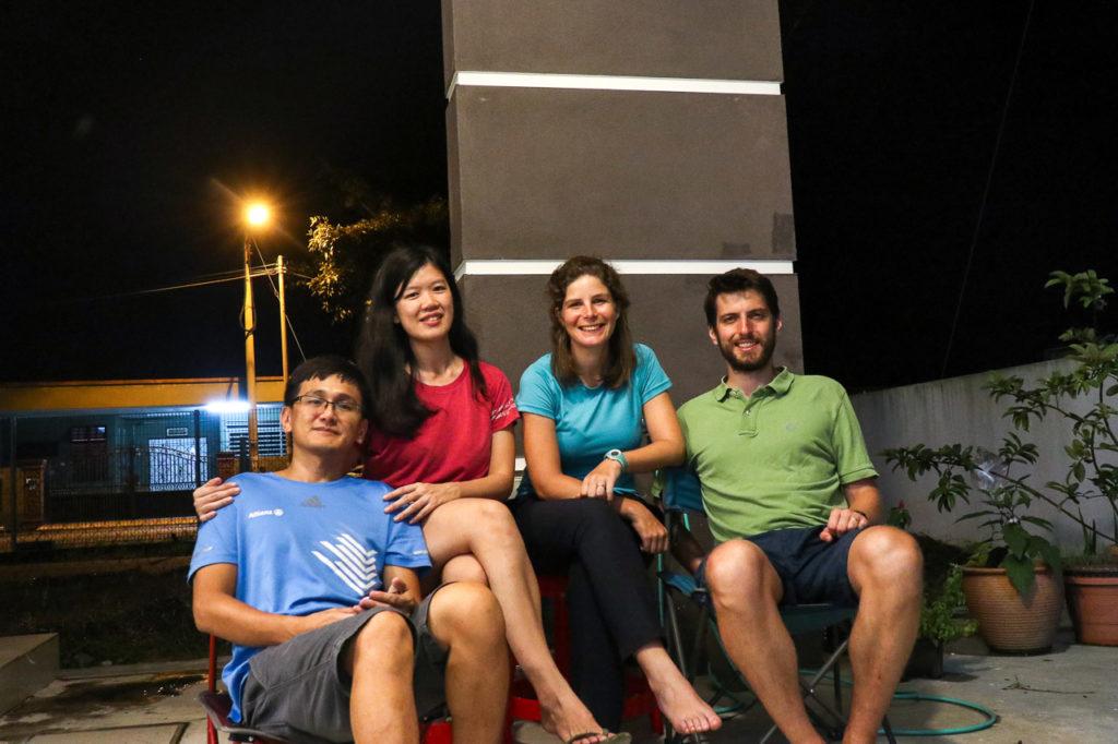 Tat, Yvonne, Johanna & Armand at Kamunting