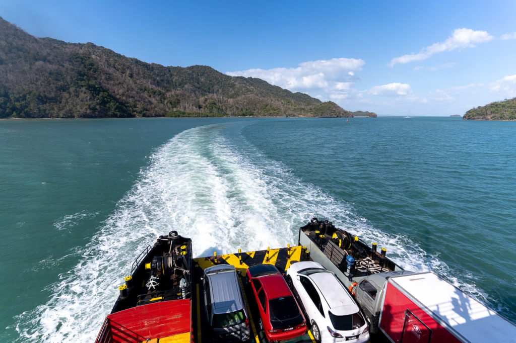 Langkawi Ro-Ro Ferry Services Kuala Perlis-Langkawi