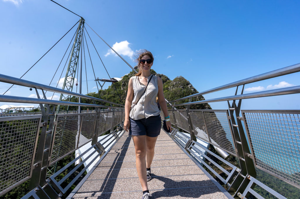 Johanna at Langkawi Sky Bridge