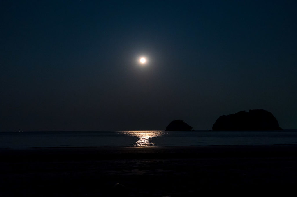 Moonrise over Secret Beach, Sam Roi Yot
