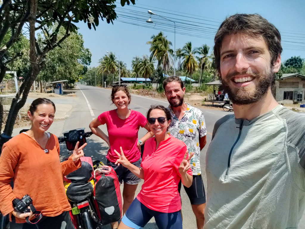 Aurélie, Johanna, Florence, Marco & Armand at Bo Nok