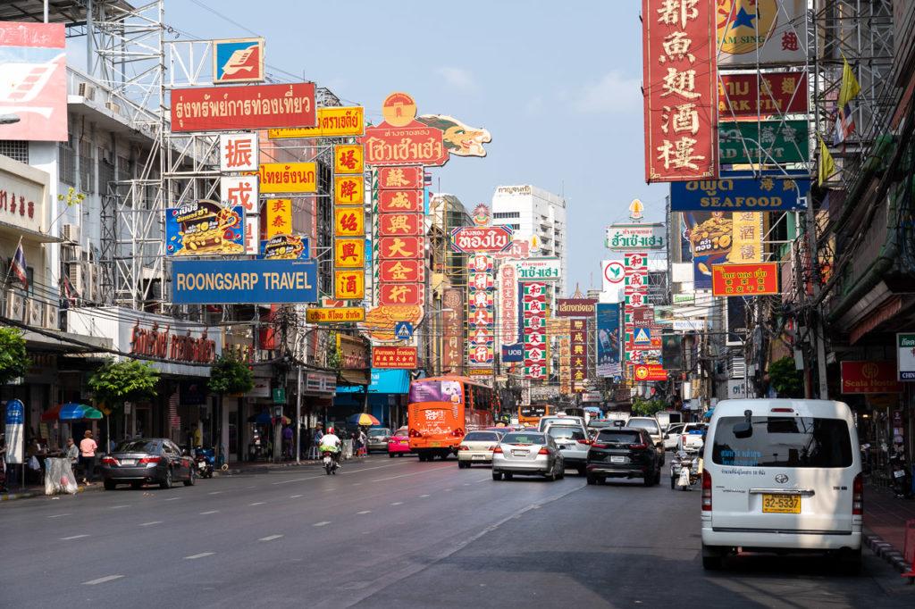 Yaowarat Road, Chinatown, Bangkok