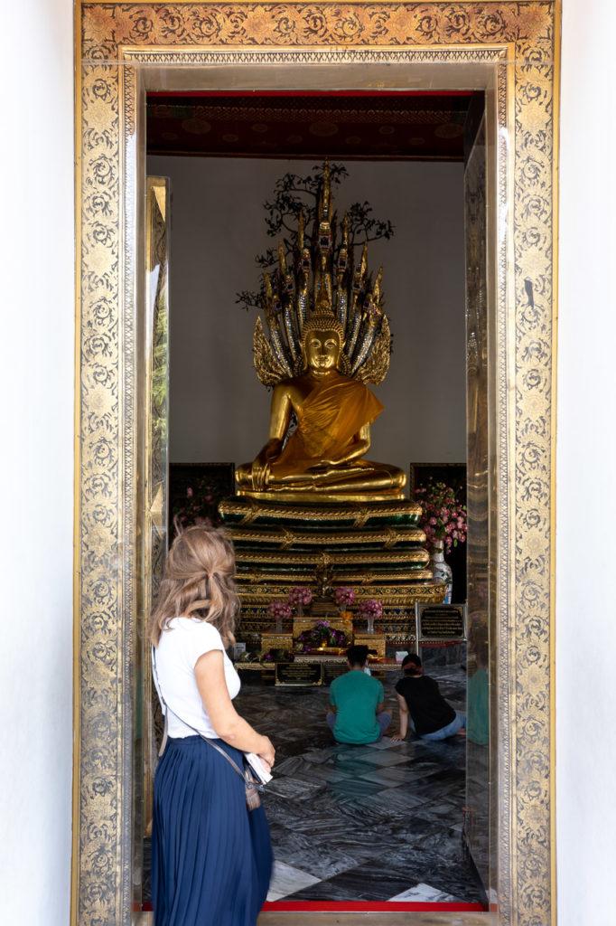 Johanna at Phra Nagaprok, Wat Pho, Bangkok