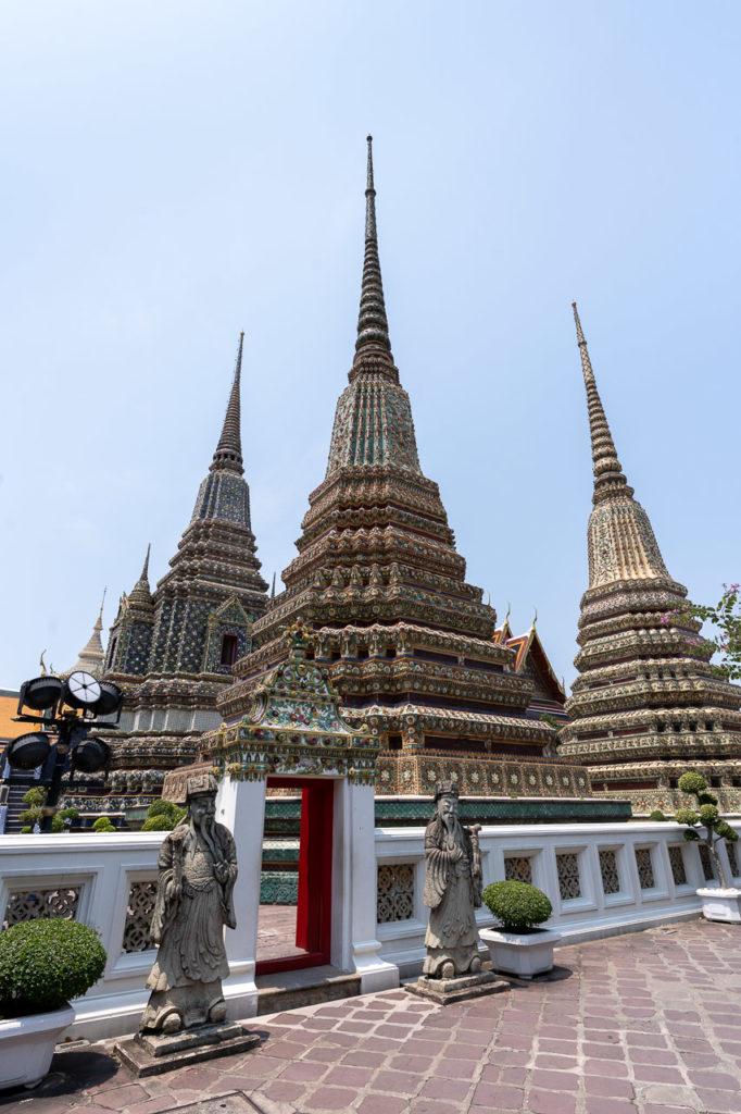 Phra Maha Chedi Si Rajakarn, Wat Pho, Bangkok