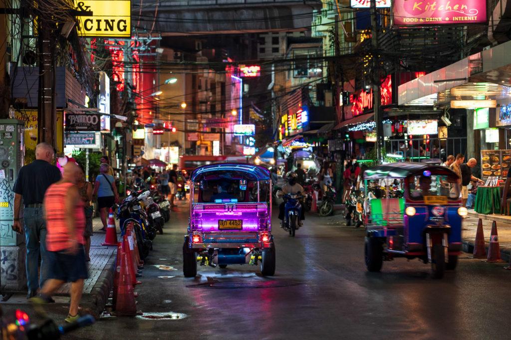 Tuk-tuk in Sukhumvit Soi 4, Bangkok