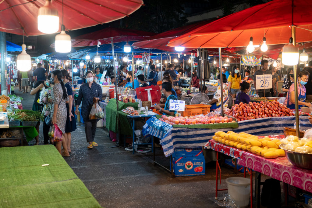 Night market in Phitsanulok