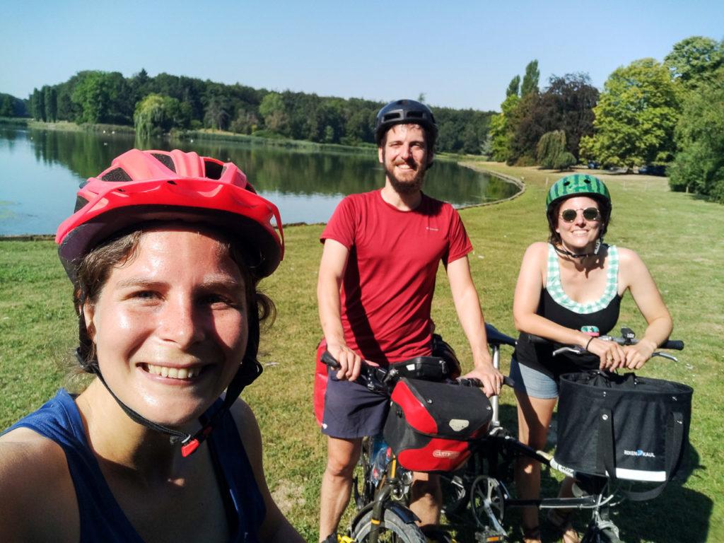 Johanna, Armand & Valérie at Vossemvijver, Park van Tervuren