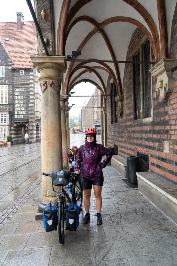Johanna at Bremer Rathaus