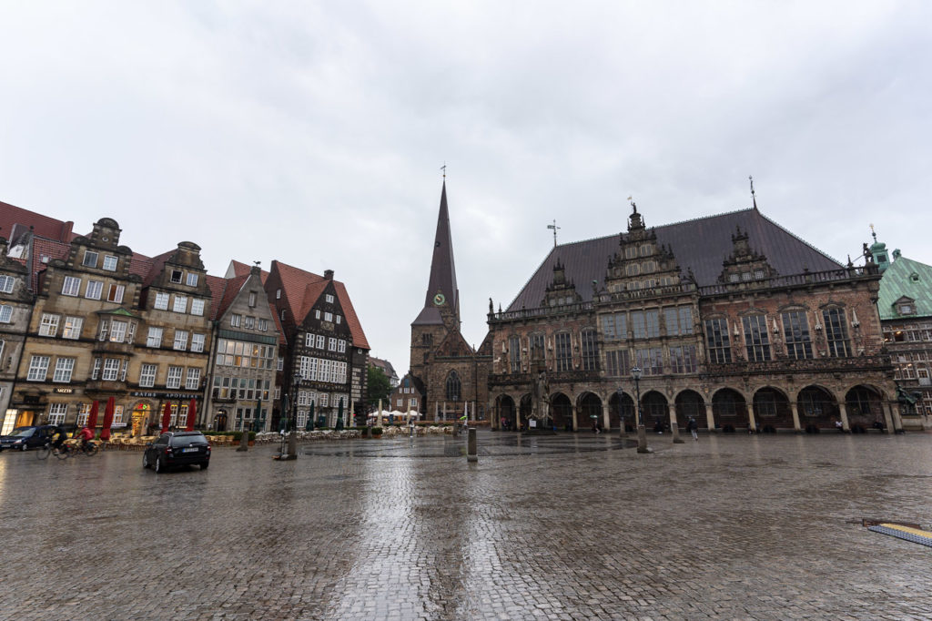 Bremer Marktplatz, Liebfrauenkirche & Bremer Rathaus