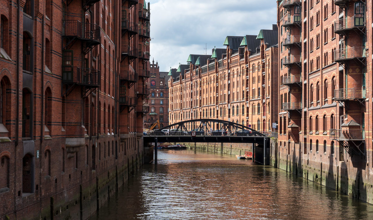 Wandrahmsfleet, Speicherstadt, Hamburg