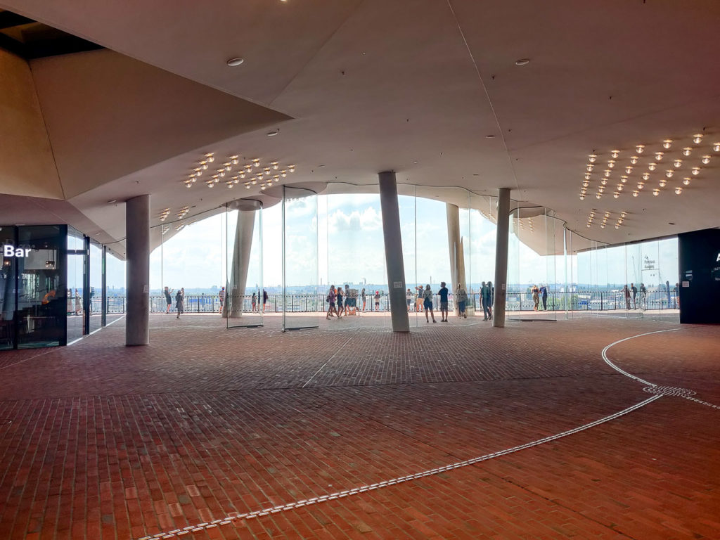 Elbphilharmonie Plaza, Hamburg