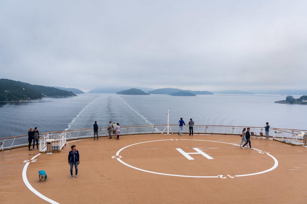 Ferry Kiel-Oslo in Oslofjorden