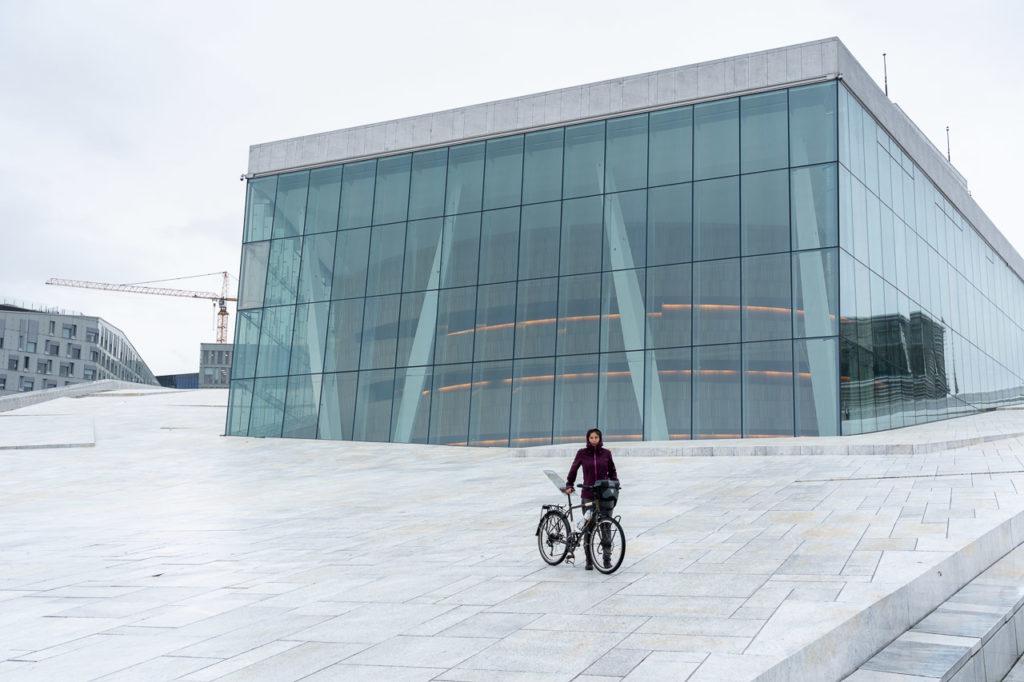 Johanna at Operahuset, Oslo