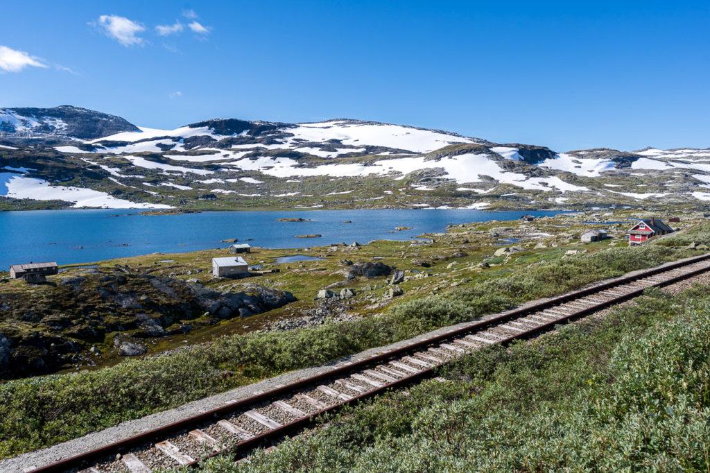 Finsevatnet & abandoned railway