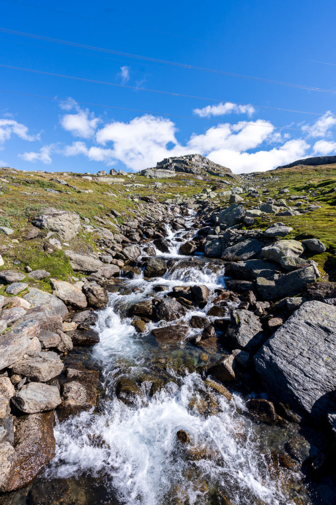 Waterfall nearby Sandåvatnet