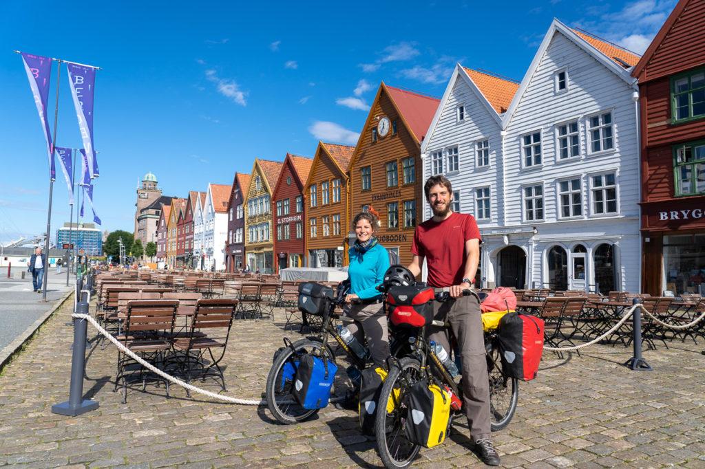Johanna & Armand at Bryggen, Bergen
