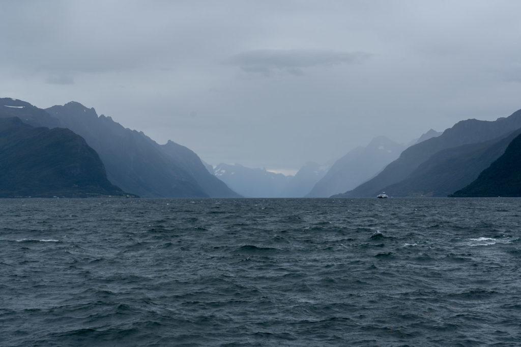 Hjørundfjorden seen from Solavågen