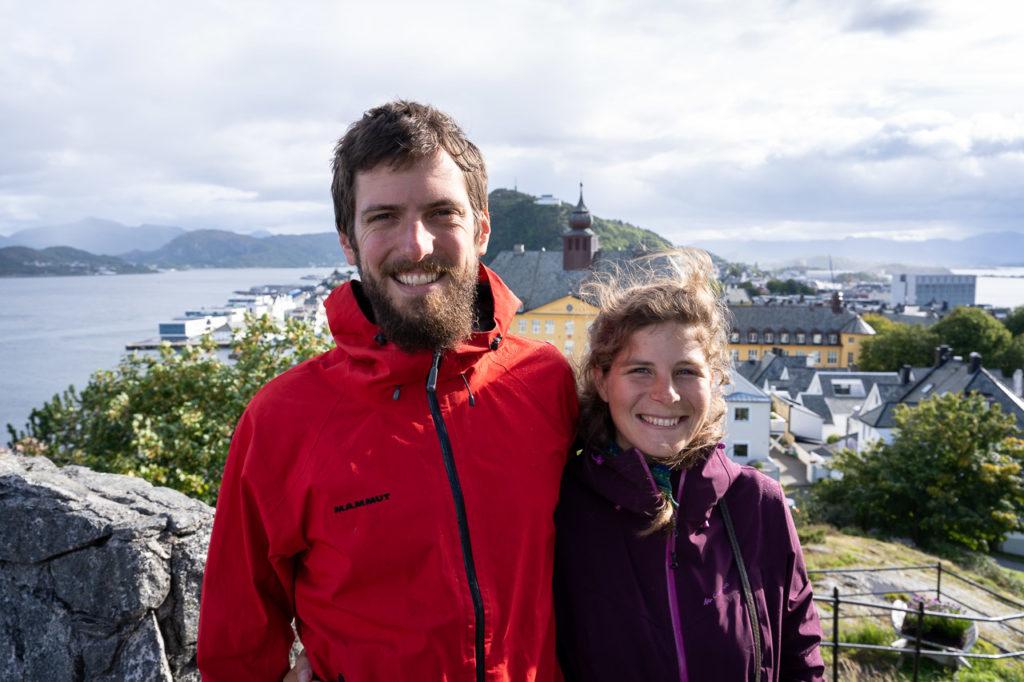 Armand & Johanna at Storhaugen, Ålesund
