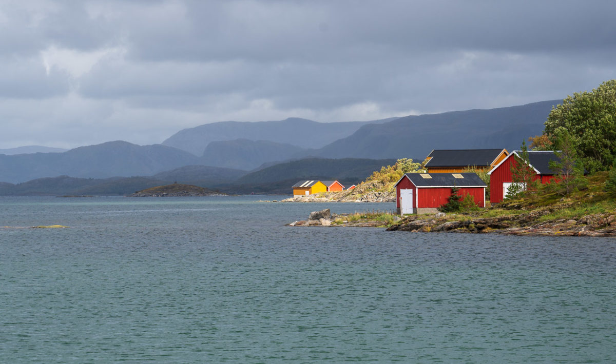 Lyngværfjorden in Vennesund
