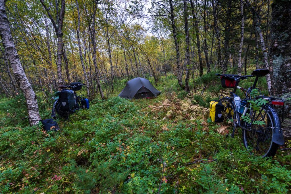 Wild camping nearby Skomo, Brønnøysund