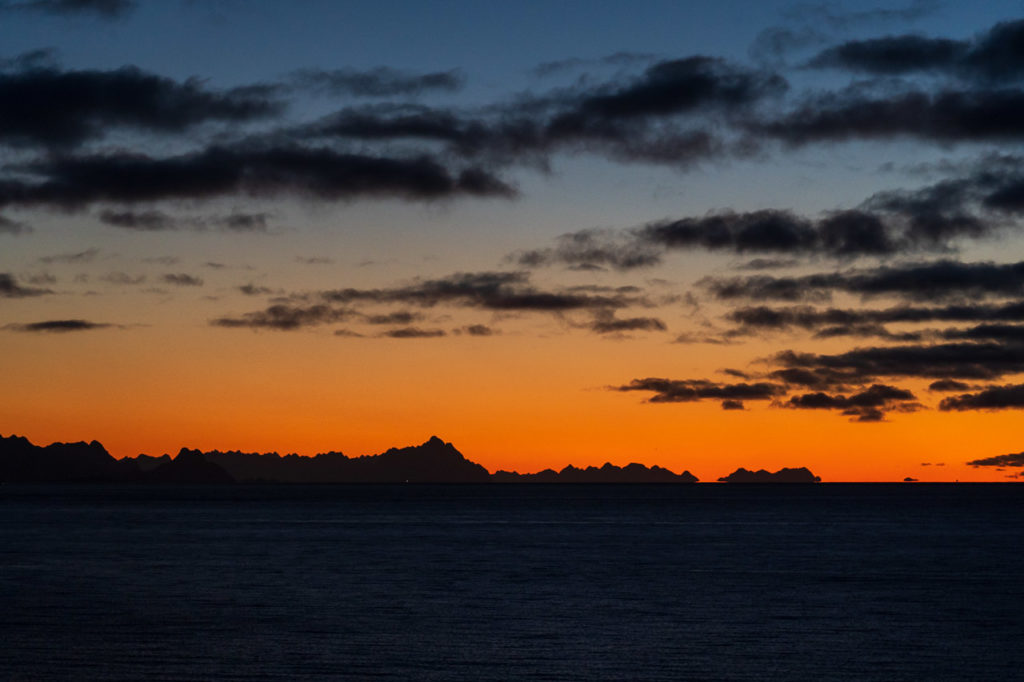 Dawn over Lofotveggen (Lofoten Wall)