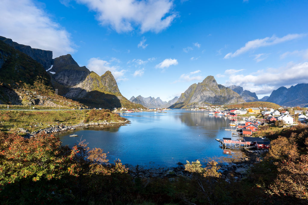Reine seen from Reinehalsen