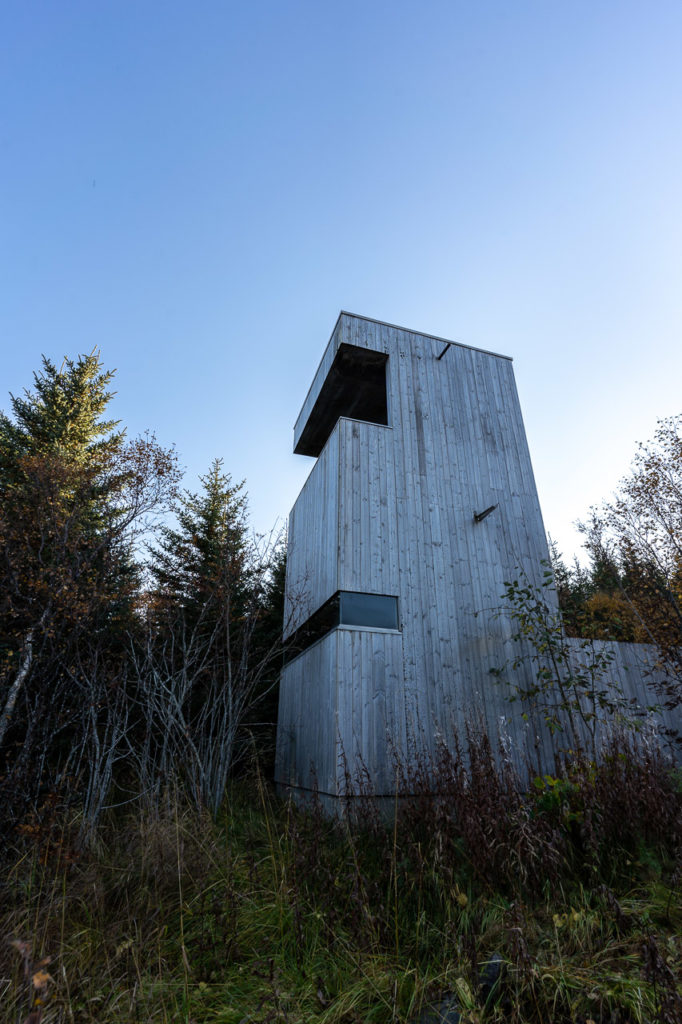 Skjærpvatnet bird observation tower