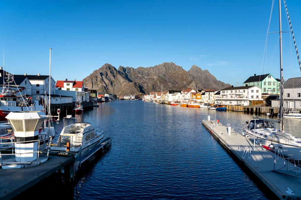 Henningsvær harbour