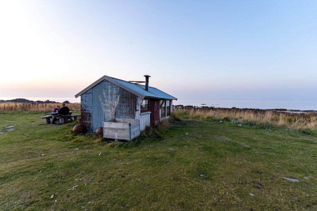 Grunnfør cabin