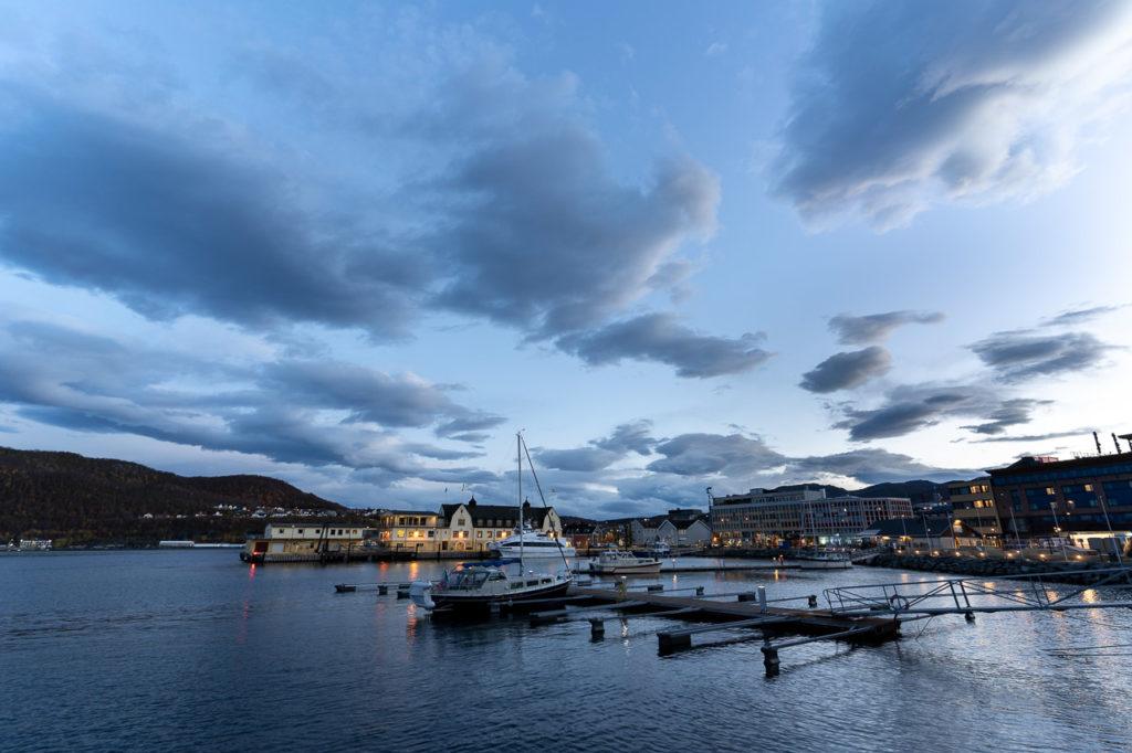 Harstad harbour