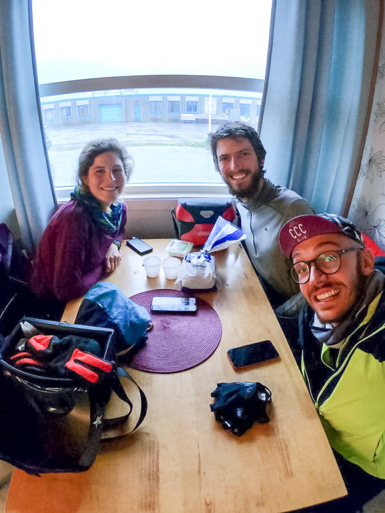 Johanna, Armand & Marco at Matkroken Senjahopen