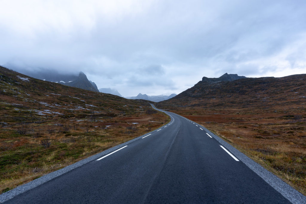 Fylkesvei 862 nearby Mefjordbotn