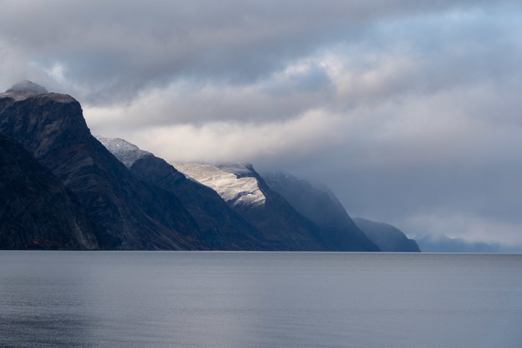 Lyngen Alps seen from Drabeng