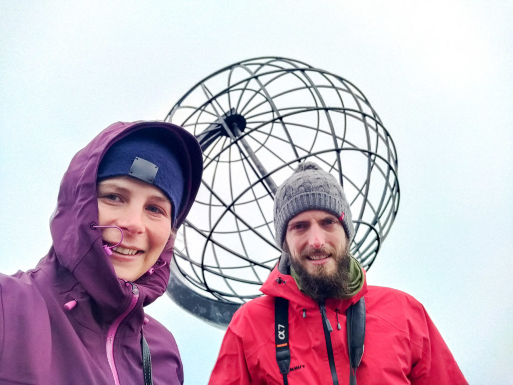 Johanna & Armand at Nordkapp